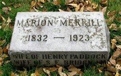 Marion <i>Merrill</i> Bridgman
