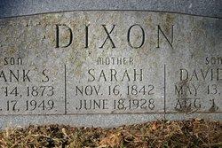 Sarah <i>Beckner</i> Dixon