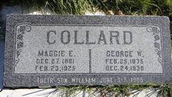 Maggie Elizabeth <i>Rowley</i> Collard