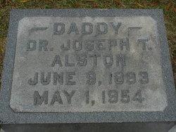 Dr Joseph Thomas Alston