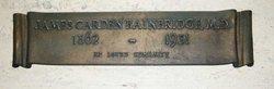 Dr James Carden Bainbridge