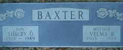 Velma B Baxter