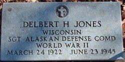 Sgt Delbert H Jones