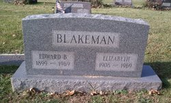 Elizabeth <i>Fannin</i> Blakeman