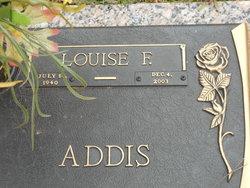 Louise F Addis