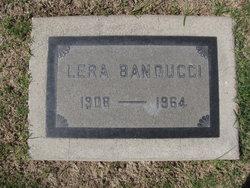 Lera G <i>Peden</i> Banducci