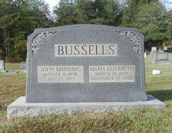 Maria Elizabeth <i>Brewington</i> Bussells