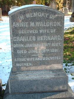 Annie M. <i>Waldron</i> Bernard