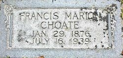 Francis Marion Choate