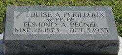 Louise A. <i>Perilloux</i> Becnel