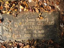 Elizabeth <i>Clinard</i> Baynes