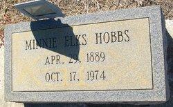 Minnie Elks Hobbs