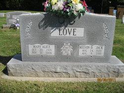 Melvin D Jack Love