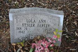Lola Ann <i>Kesler</i> Farley