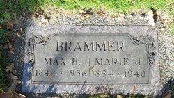 Marie J <i>Dau</i> Brammer