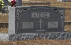 Alma T Arend