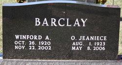 Olga Jeaniece <i>Daniel</i> Barclay