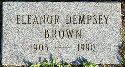 Ruby Eleanor <i>Dempsey</i> Brown