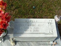 Annette <i>Holt</i> Hoyt
