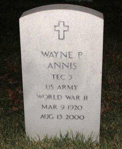 Wayne P Annis
