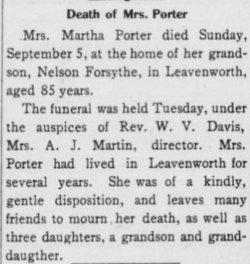 Martha <i>Scott</i> Porter