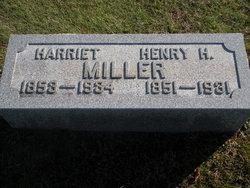 Harriet Hattie <i>Ringle</i> Miller