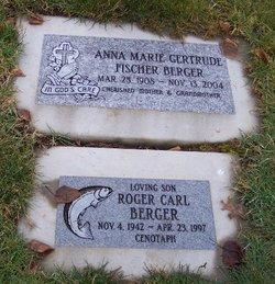 Anna Marie Gertrude <i>Fischer</i> Berger