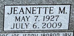 Jeanette <i>Anglin</i> Lanser
