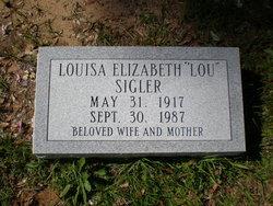 Louisa Elizabeth Lou <i>Wilson</i> Sigler