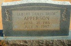 Elbert Dulin Dude Apperson