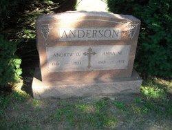 Anna Maria <i>Johnson</i> Anderson