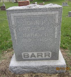 Sarah O Barr