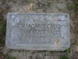 Margaret A <i>Creedon</i> Fitzgerald