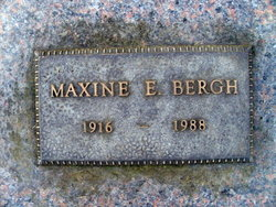 Maxine E Bergh