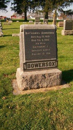 Catharine Jane <i>Peck</i> Bowersox