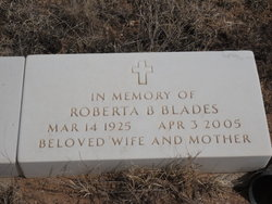 Roberta B Blades