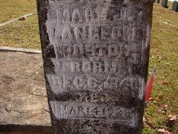 Mary Jane Polly <i>Langford</i> Poston