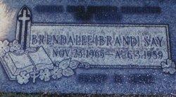 Brenda Lee Bennie <i>Brand</i> Say