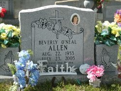 Beverly <i>O'Neal</i> Allen