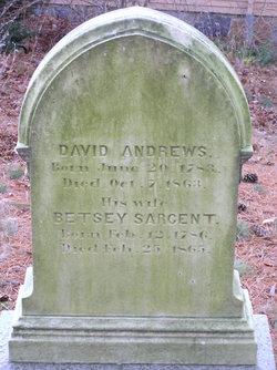Betsey <i>Sargent</i> Andrews