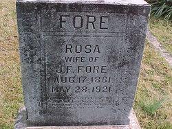 Rosetta Rosa <i>Lewis</i> Fore