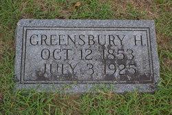 Greensbury H. Conaway