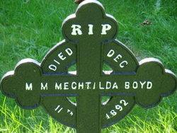 Sr M Mary Mechtilda Boyd