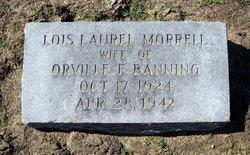 Lois Laurel <i>Morrell</i> Banning