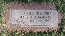 Mary Lillian <i>Willis</i> Adamson