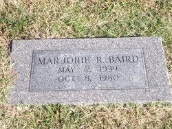 Marjorie R Baird