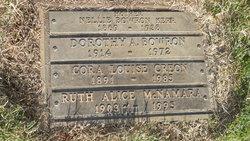 Dorothy A Bowron