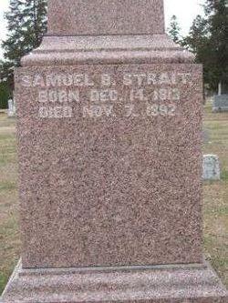 Samuel B Strait