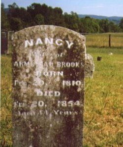 Nancy <i>Harrison</i> Brooks