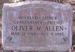 Oliver W Allen